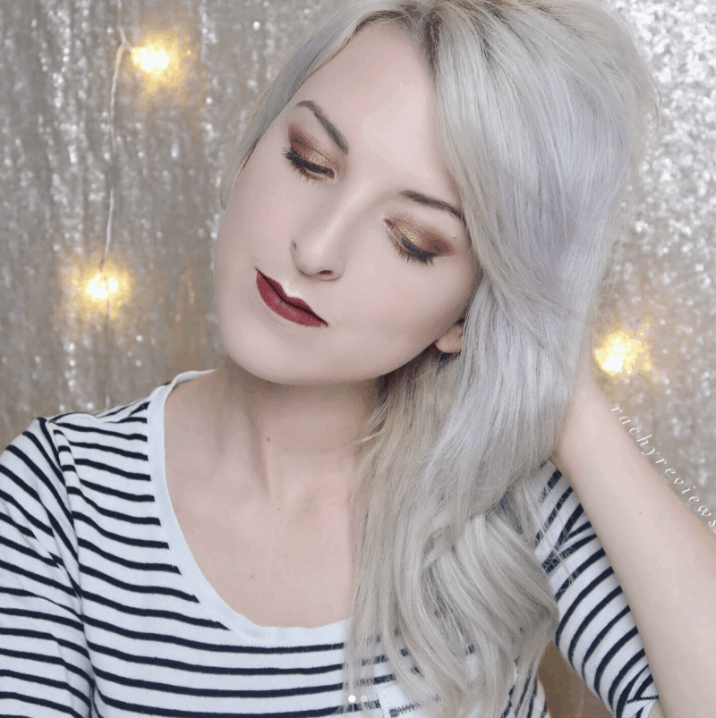 final look with morphe Jaclyn hill Palette