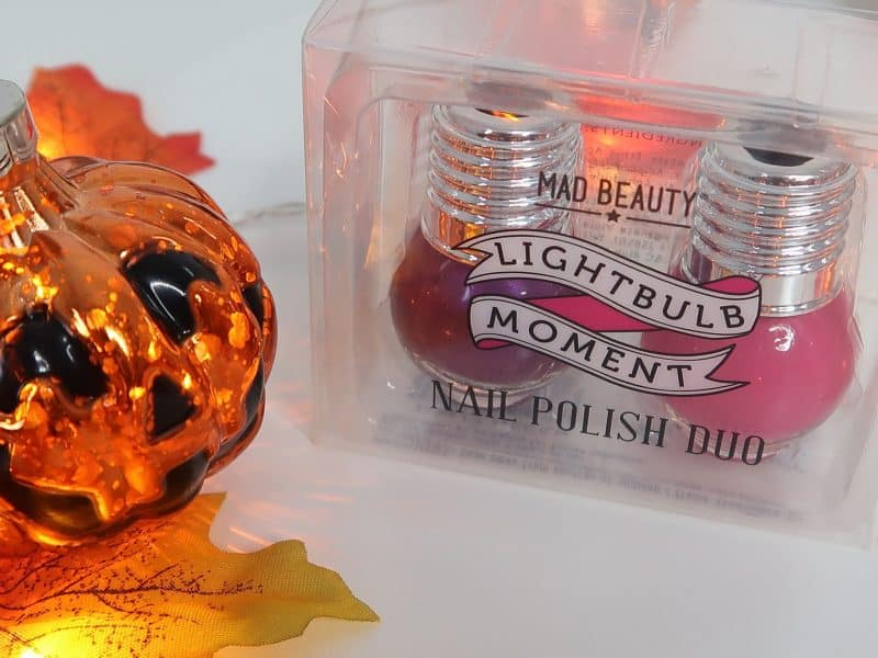 Lightbulb moment Nail polish