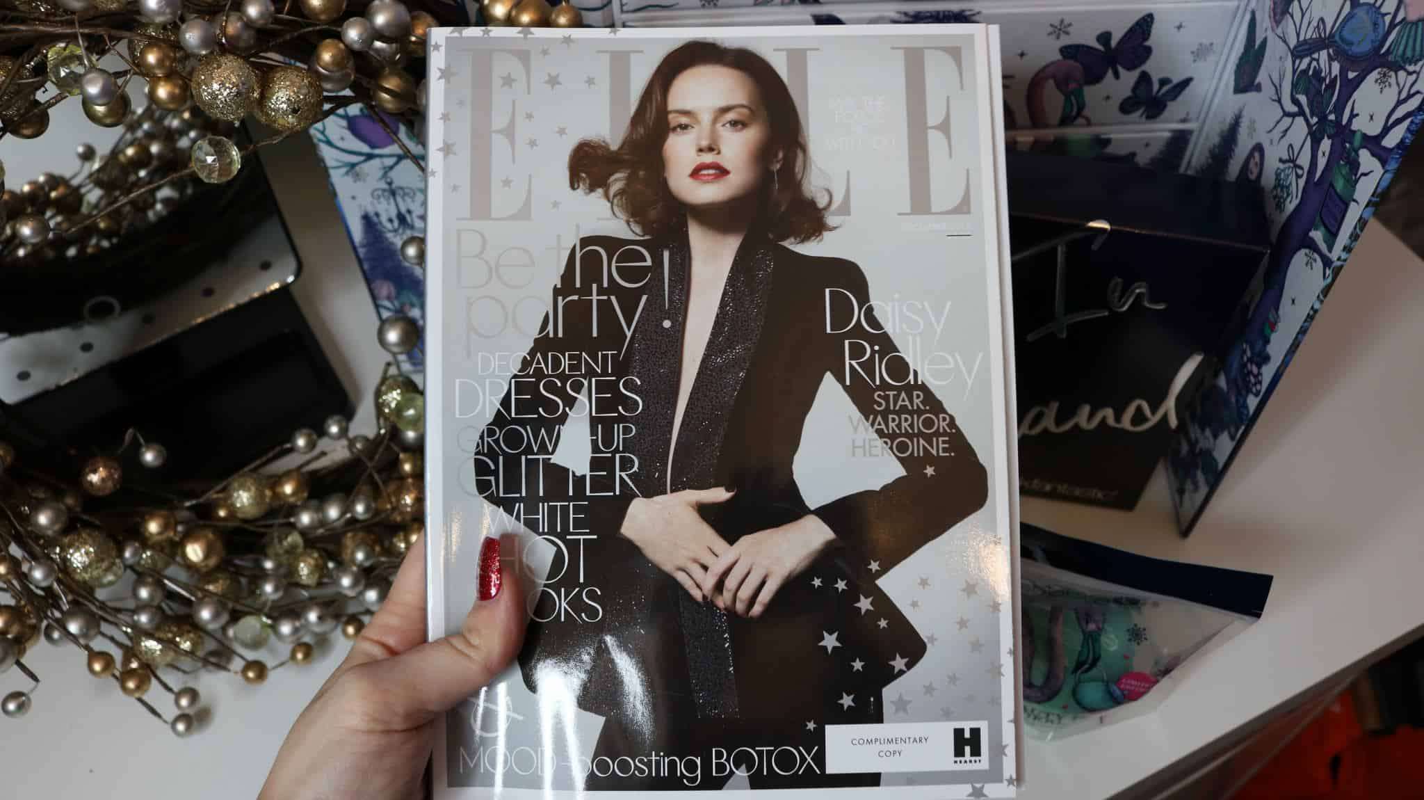 Copy of ELLE magazine