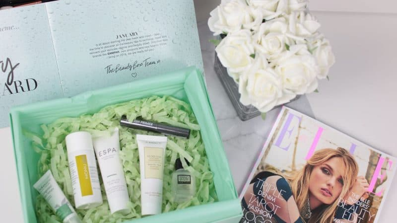 LOOKFANTASTIC January 2018 Beauty Box