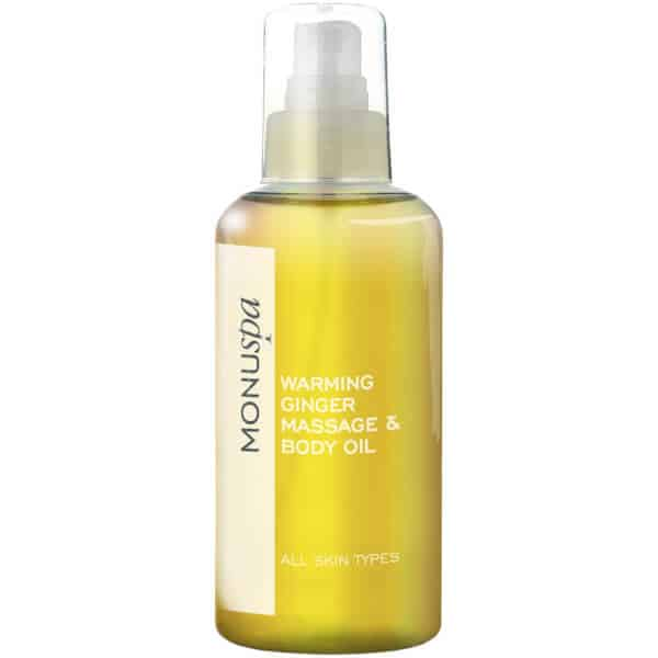 MONUSPA - Warming Ginger Bath & Body Oil
