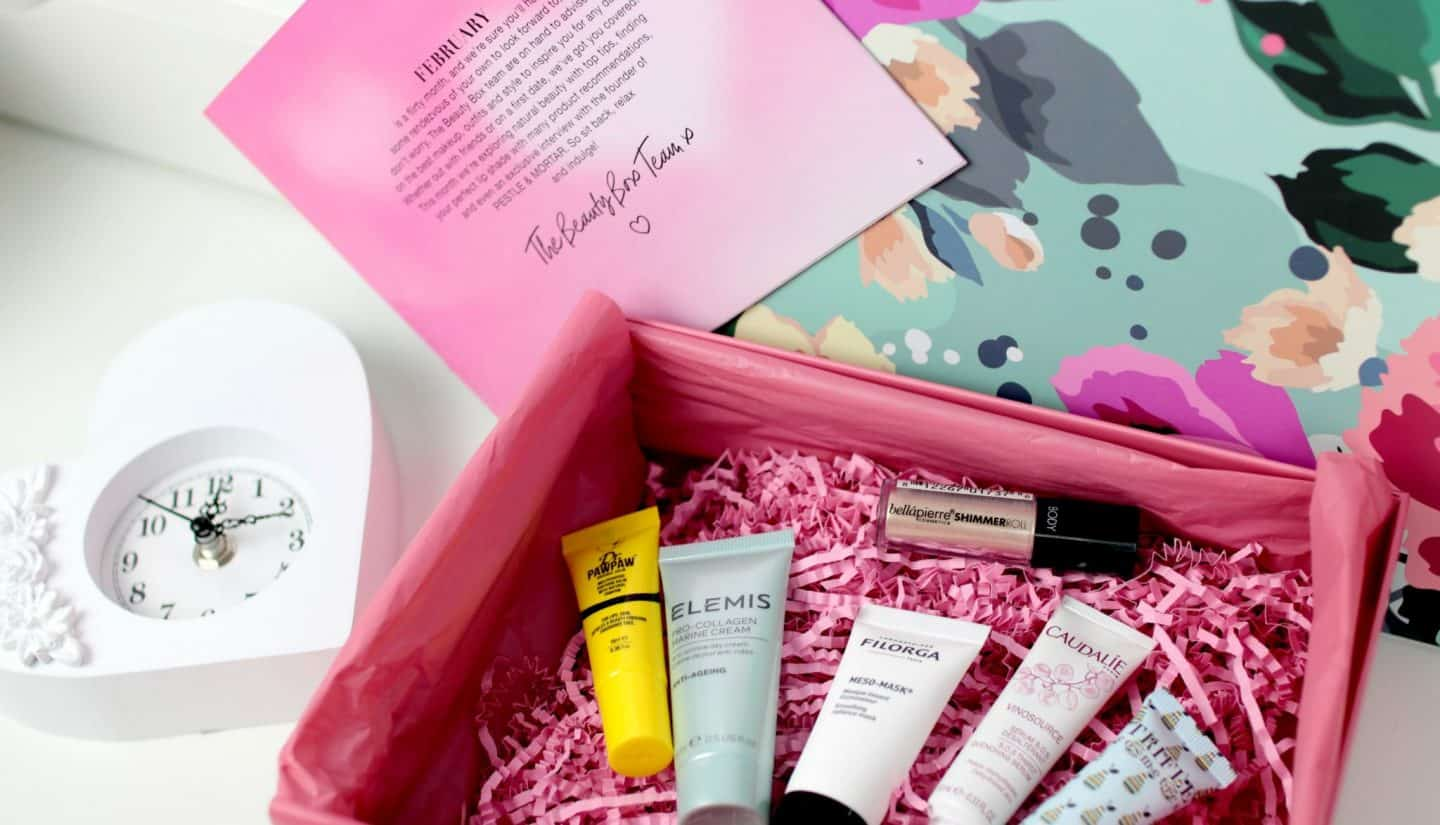 LOOKFANTASTIC Beauty Box Review February 2018
