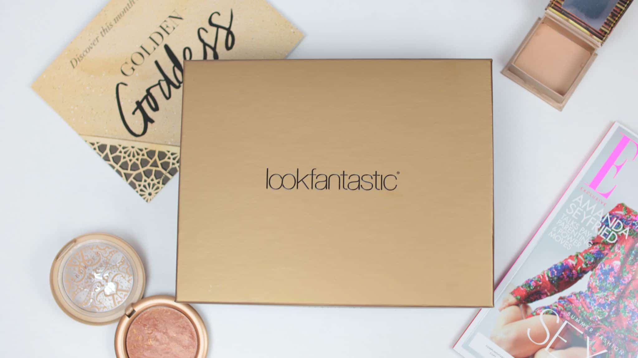 Lookfantastic beauty box July 2018