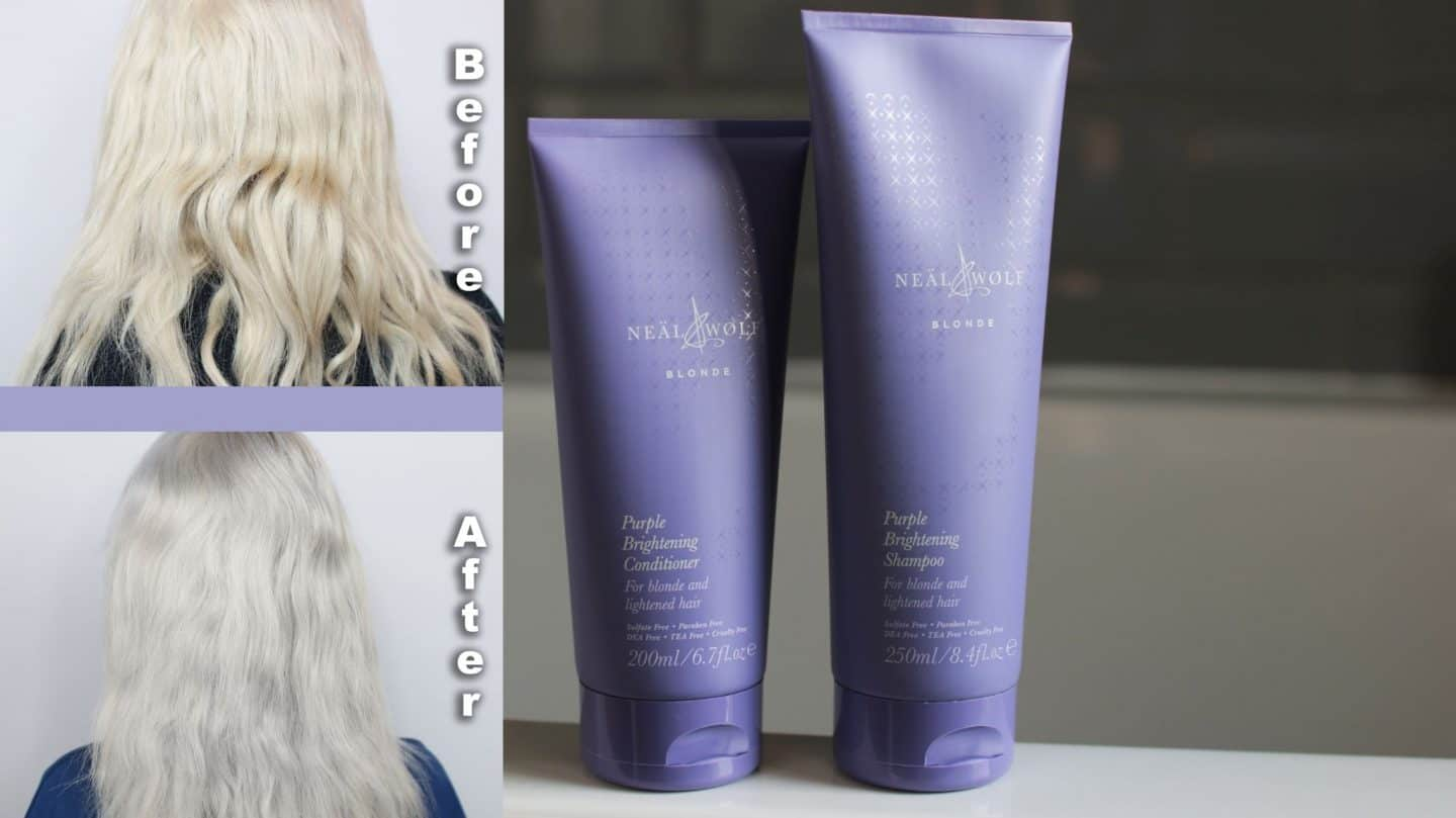 Trying the New Neal & Wolf 'Blonde' Range